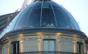 En un tejado de París