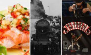 Cocina peruana, tren a Peñarol y Festival de Títeres de la Costa